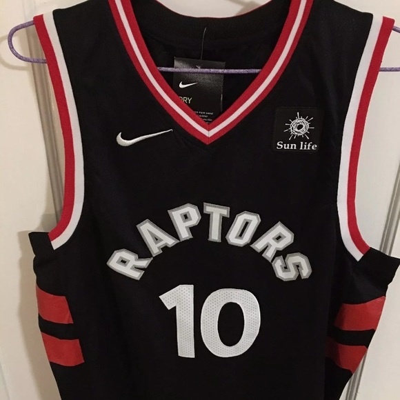 cheap for discount 977ce 3979d Demar Derozan raptors jersey black new with tags NWT